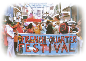 French Quarter Banner